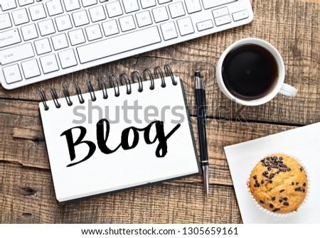 Blog text concept #1305659161