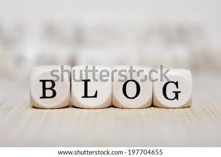 blog word concept