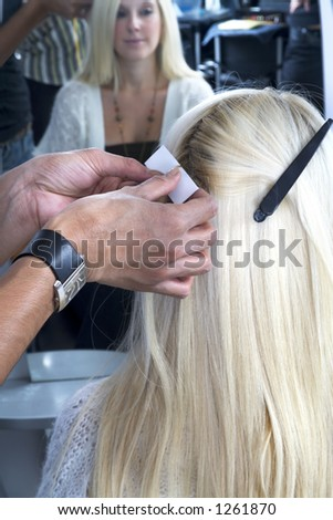 Blond hair extensions 4