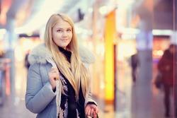 blonde, shopping, winter, spring