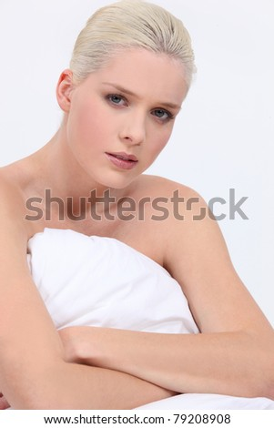 Sexual Naked Girl On Bed Stock Photo 57637021 - Shutterstock