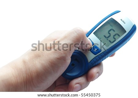Blood glucose meter, grasps the situation