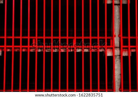 Blood Red Dead Steel Lattice