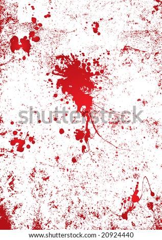 blood splatter black background. stock photo : Blood splatter