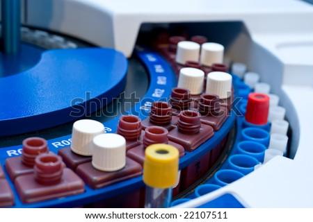 blood test machine