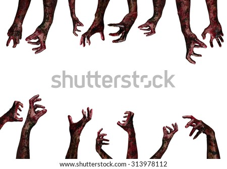 Bloody hand and a knife Images and Stock Photos - Avopix com
