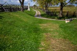 Bloody Lane at Antietam Battlefield