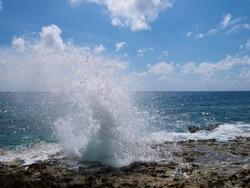 Blow holes, Grand Cayman, Cayman Islands
