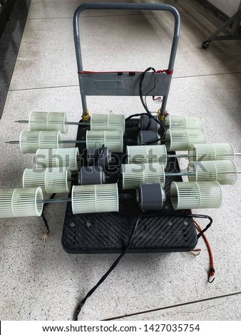 blowers of air condition for cleaning