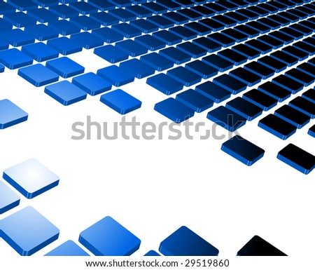 blue abstract background composition