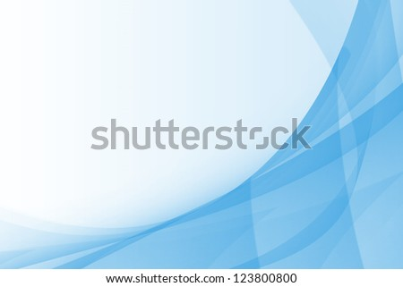 Blue Abstract Background Design - stock photo