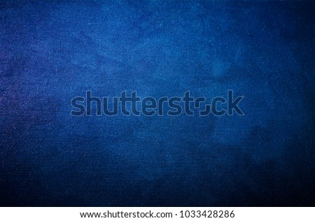 Blue, abstract background for design ideas. Raster image. Textured background.