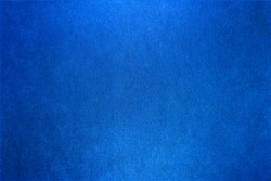 Blue, abstract background for design ideas. Raster image. Textured background. Artistic plaster. Light reflex. Space for ignition. Beautiful, classic backdrop.