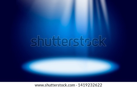 Blue abstract background, light rays, light effect, light spot , #1419232622