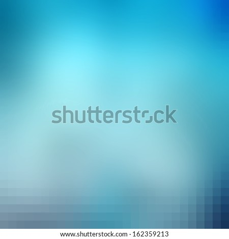 Blue abstract background - modern medical, health or dental business website template