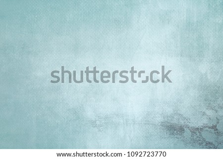 blue abstract background on canvas texture  #1092723770