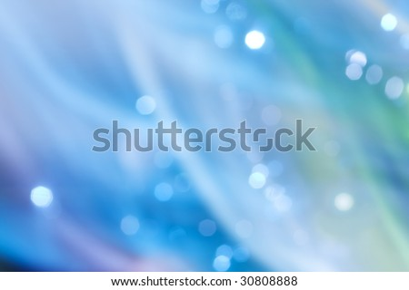 Blue abstract light background with reflection.