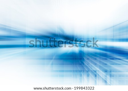 Blue Abstract Technology Background