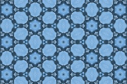 blue abstract textured background, symmetric shapes