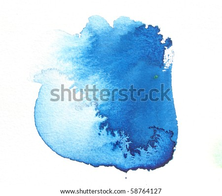 blue abstract watercolor background design design