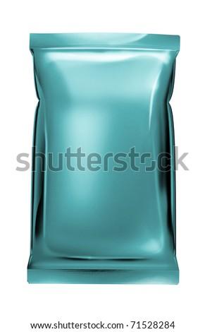 blue aluminum foil