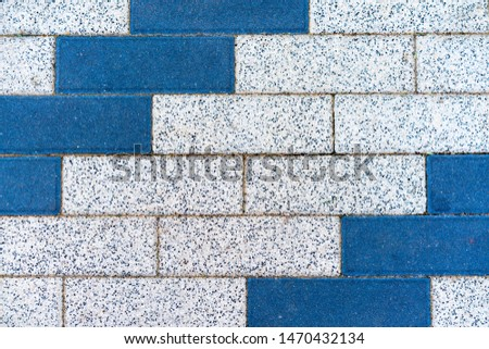 Blue and gray rectangles as a background for the designer. #1470432134