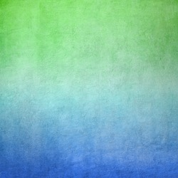 Blue and green concrete background texture