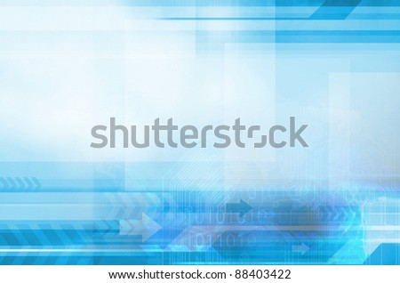 Blue and Line background