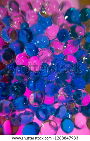 Blue and Pinks Circles #1288847983