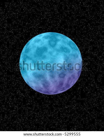 purple and blue planets - photo #29