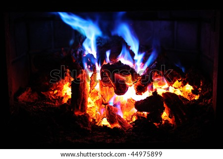 Blue Flame Gas Fireplace Fireplaces