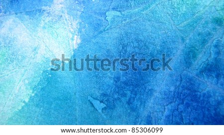 Blue and Turquoise Watercolor Background 5
