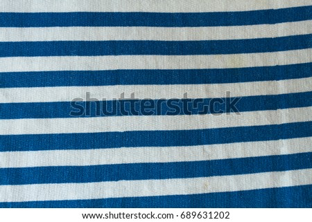 Blue and white stripeped texture #689631202