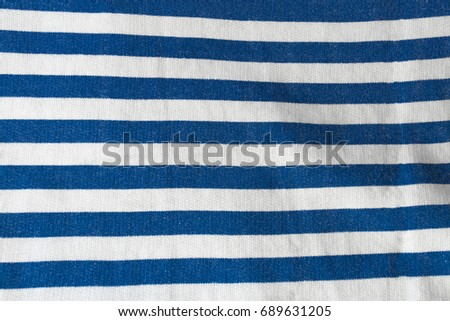 Blue and white stripeped texture #689631205