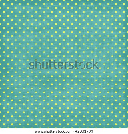 Blue and White Tiny Distressed Polka Dots