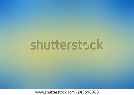 Blue and yellow Abstract blurry backgrounds