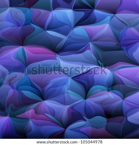 Blue artistic abstract background.Raster version