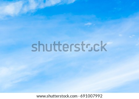 Blue backdrop in the air - Shutterstock ID 691007992