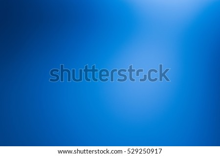 Blue background abstract dark blur gradient texture bright light. Navy clean wallpaper backdrop template design. - Shutterstock ID 529250917