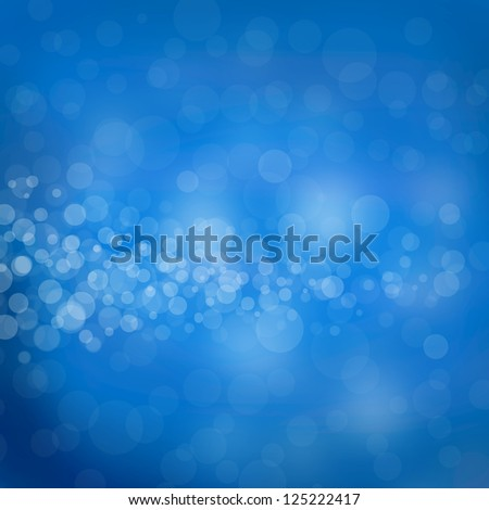 Blue Background and Lights