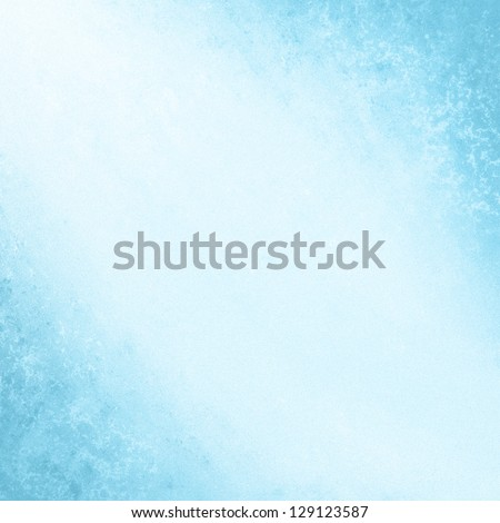 blue background. cool spring poster abstract canvas backdrop faded grunge background light blue color border