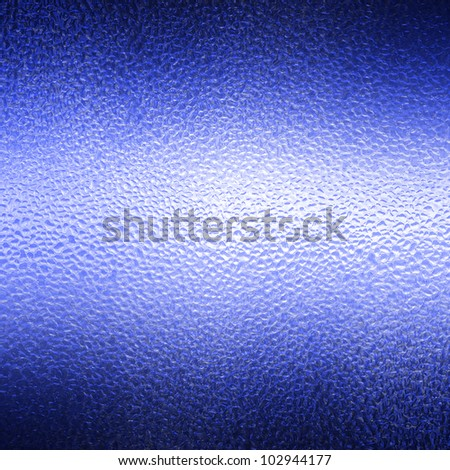 Blue background with drops of clean water