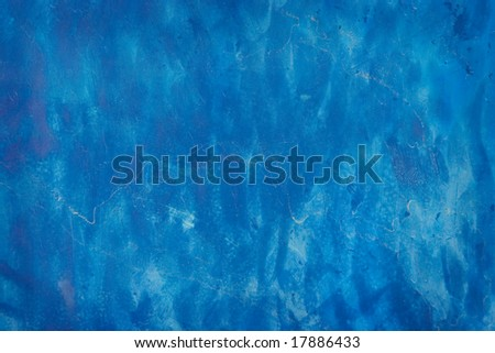 Blue Background with Interesting Texture - stock photo