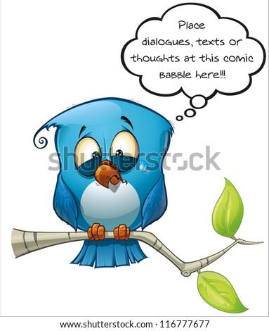 Blue Bird Emotional