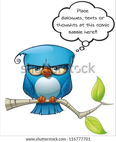 Blue Bird Serious