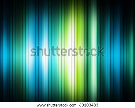 Blue black and green lines background. Abstract illustration
