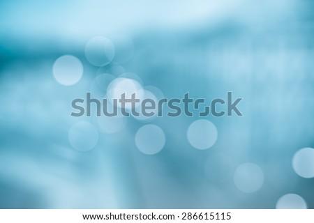 BLUE BLURRED BACKGROUND #286615115