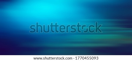 Photo of  blue blurred background motion gradient light abstract motion glow
