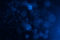 blue bokeh abstract light backgrounds