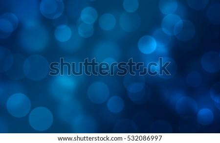 Blue bokeh background #532086997
